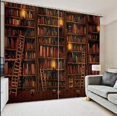 brown, Luxury, Office, windowdrape