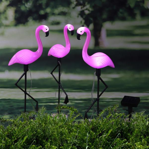 tuinverlichting, lampesdejardin, flamingo, led