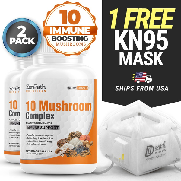 immunesystem, Masks, immunesupport, Mushroom