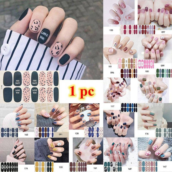 nail stickers, art, Beauty, Colorful