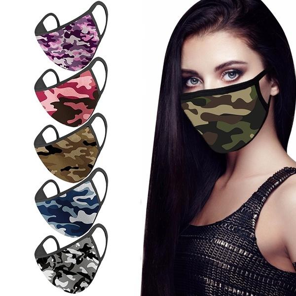 Fashion, unisex, Masks, camouflage