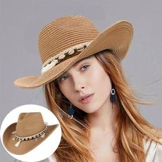 Summer, Outdoor, Beach hat, Cowboy
