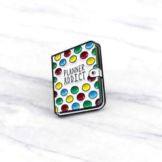 Pins, Colorful, Cartoon Watch, Brooch Pin