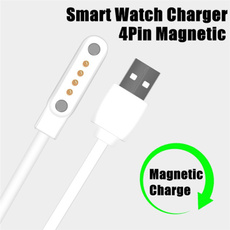 smartwatche, 4pinpowercable, charger, magneticchargingcable