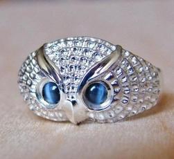 Sterling, cute, stackablering, Owl