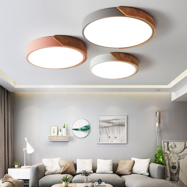 led, Simple, ceilinglightfixture, Modern