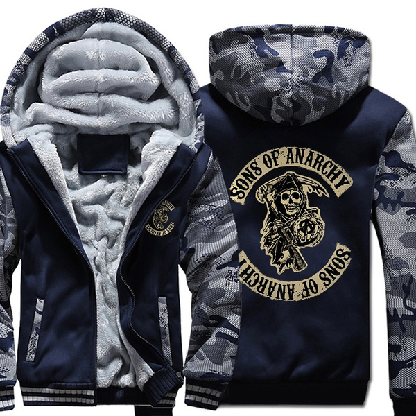 anarchy, Fashion, Winter, Sons of Anarchy Hoodie