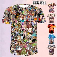 Summer, Plus Size, Cotton T Shirt, onepiecetshirt