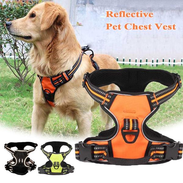 dog accessories, Vest, Medium, reflectivedogharnes