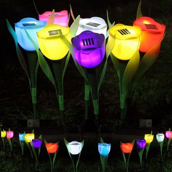flowerledlight, Fashion, led, Garden