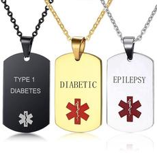 Steel, Stainless Steel, Jewelry, medicalalertjewelry