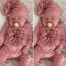 Baby Girl, Flowers, newbornromper, newbornjumpsuit