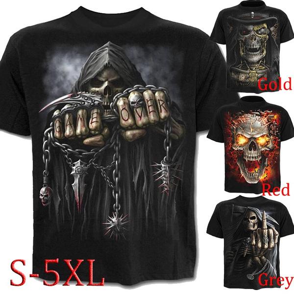 Mens T Shirt, Goth, Fashion, Shirt