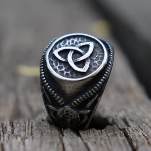 Antique, ringsformen, amuletring, Men