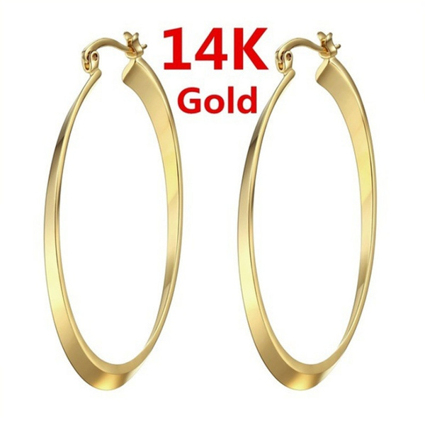 14kgoldearring, Jewelry, Gifts, gold