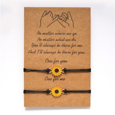 couplesbracelet, Love, Gifts, Sunflowers
