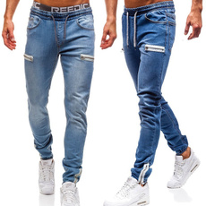 men's jeans, trousers, Waist, Casual pants