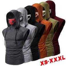 hoodiesformen, Vest, Plus Size, hooded