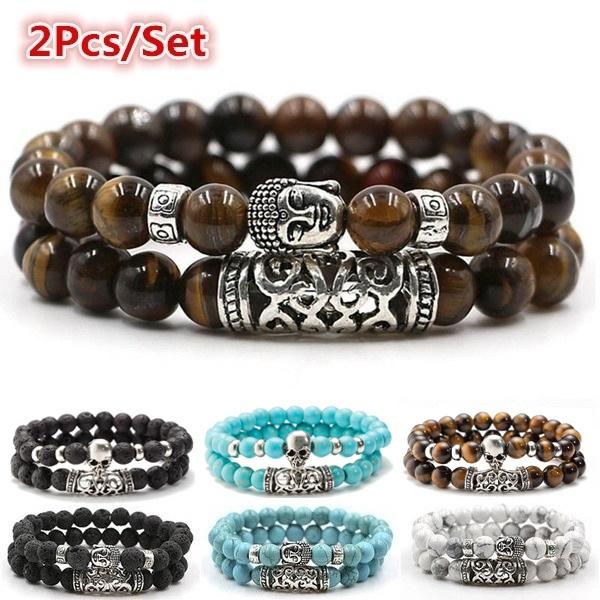 Charm Bracelet, Turquoise, buddhabracelet, Jewelry