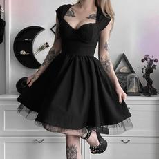 slim dress, Cosplay, Waist, Dress
