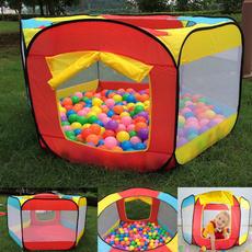 kidsplayhouse, Outdoor, playtentstunnel, Colorful