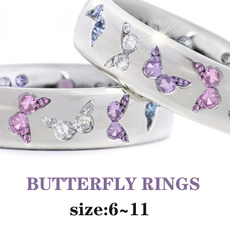 diamondringforwomen, Beautiful, butterflyring, DIAMOND