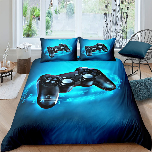 Game Control Single//Double//Queen//King Bed Quilt Cover Set