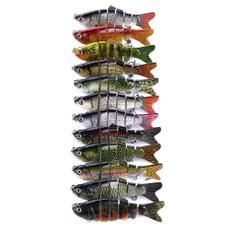 Lures, bait, 6segment, fish