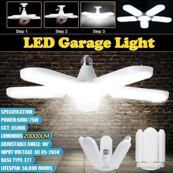 warehouselighting, ceilinglamp, e27lightbulb, foldinggaragelight