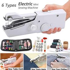 Mini, handheldsewingmachine, Electric, clothessewing