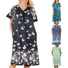 Plus Size, Dresses, housedresse, Dress