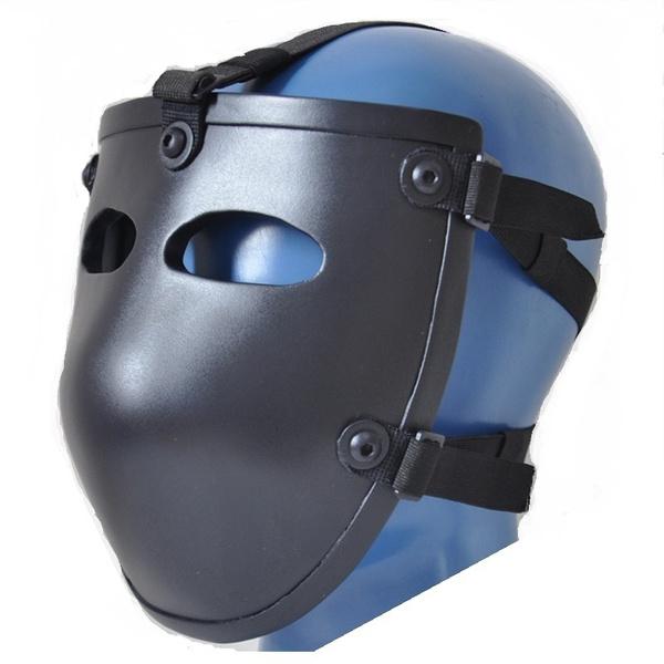 Us Military Nij Level Iiia Ballistic Mask Bullet Proof Visor Iiia Kevlar Bulletproof Ballistic Face Mask Wish