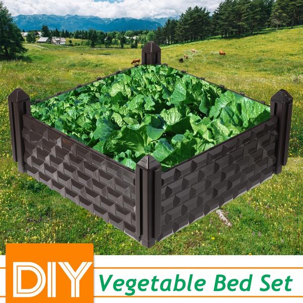 vegetablebox, gardenbed, Flowers, Gardening