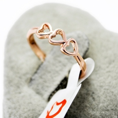 Couple Rings, Heart, Love, Women Ring