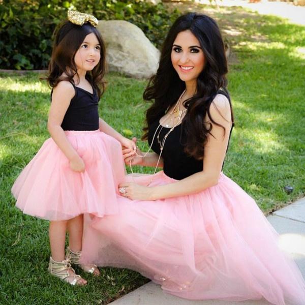 pink, familymatchingoutfit, Princess, Family