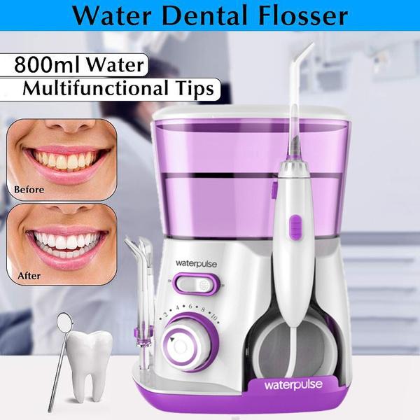 waterflosser, waterflossing, dentalflosser, oralirrigator