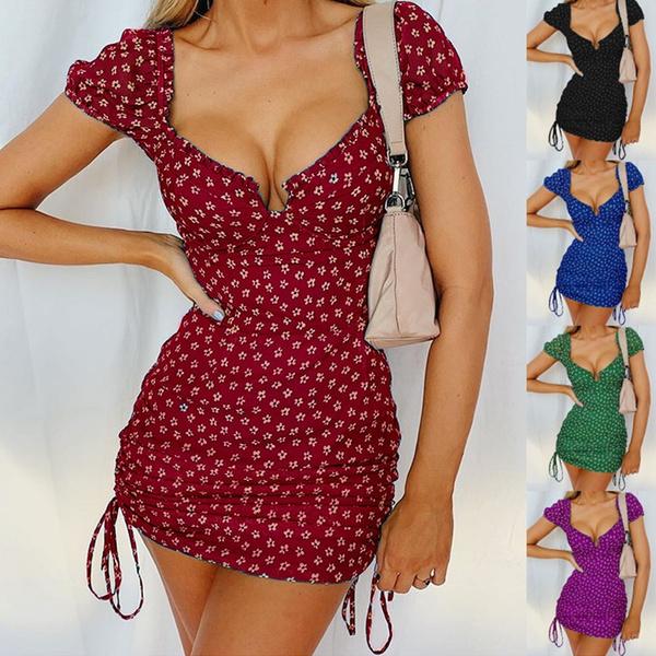 Summer, Fashion, Sleeve, Mini