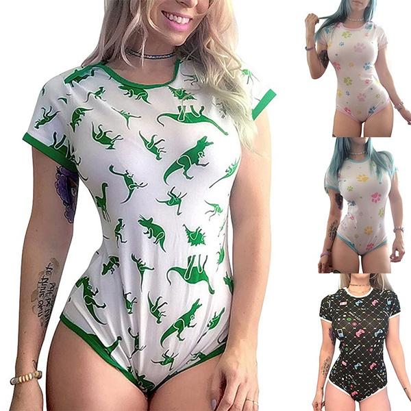 women's pajamas, Fashion, slim, short sleeves