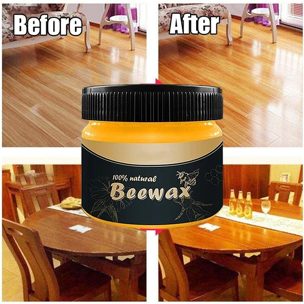 Wood Seasoning Beewax Complete Solution Furniture Care 100/% 2020 Beeswax O6G6