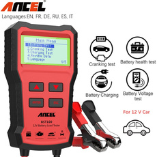 automotivebatterytester, volttester, charger, batteryloadtester