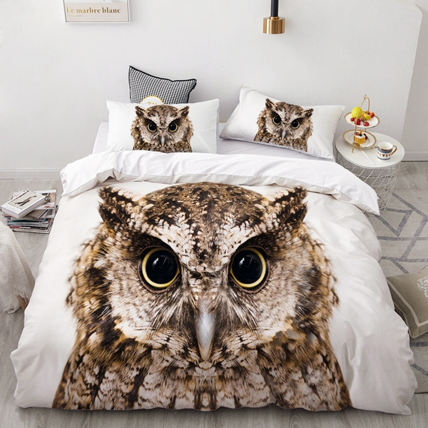 Owl, doonacover, Home & Living, Bedding