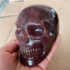 Head, skull, heartreiki, strawberry