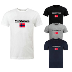 Summer, Fashion, Cotton T Shirt, Sleeve