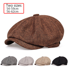 Adjustable, Spring, Men, beret