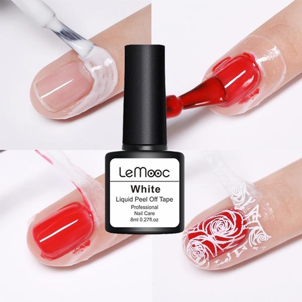 pink, nailartlatex, nailcuticleprotector, Beauty
