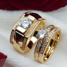 DIAMOND, wedding ring, gold, 18 k