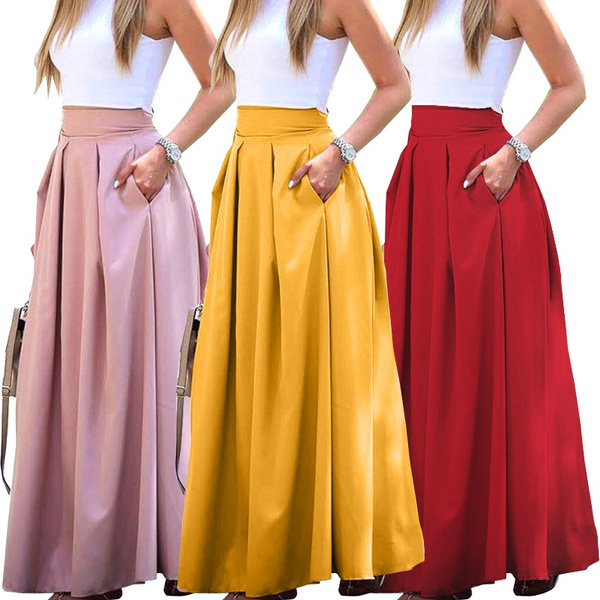 Summer, Plus Size, looseskirt, candy color