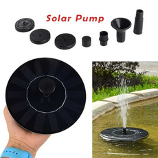 floatingpanel, geyser, solarfountainpump, Garden