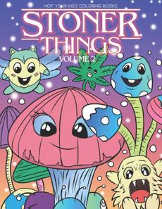 coloringbook, humorouscoloringbooksforgrownup, Book, stonercoloringbook