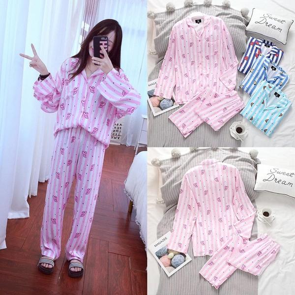 cottonpajamasset, women's pajamas, Fashion, Shirt